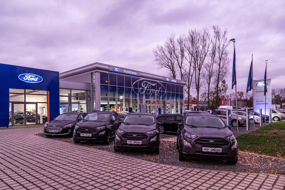Willkommen im FordStore Pichel Chemnitz